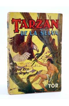 Cubierta de TARZÁN 6. TARZÁN DE LA SELVA (Edgar Rice Burroughs) Tor 1945