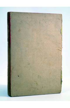 Contracubierta de TARZÁN 6. TARZÁN DE LA SELVA (Edgar Rice Burroughs) Tor 1945