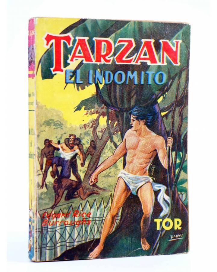Cubierta de TARZÁN 7. TARZÁN EL INDÓMITO (Edgar Rice Burroughs) Tor 1945
