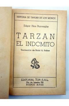 Muestra 1 de TARZÁN 7. TARZÁN EL INDÓMITO (Edgar Rice Burroughs) Tor 1945