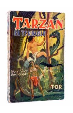 Cubierta de TARZÁN 8. TARZÁN EL TERRIBLE (Edgar Rice Burroughs) Tor 1945