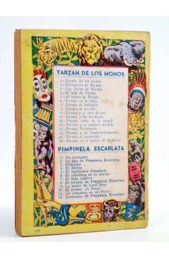 Contracubierta de TARZÁN 9. TARZÁN Y EL LEÓN DORADO (Edgar Rice Burroughs) Tor 1957