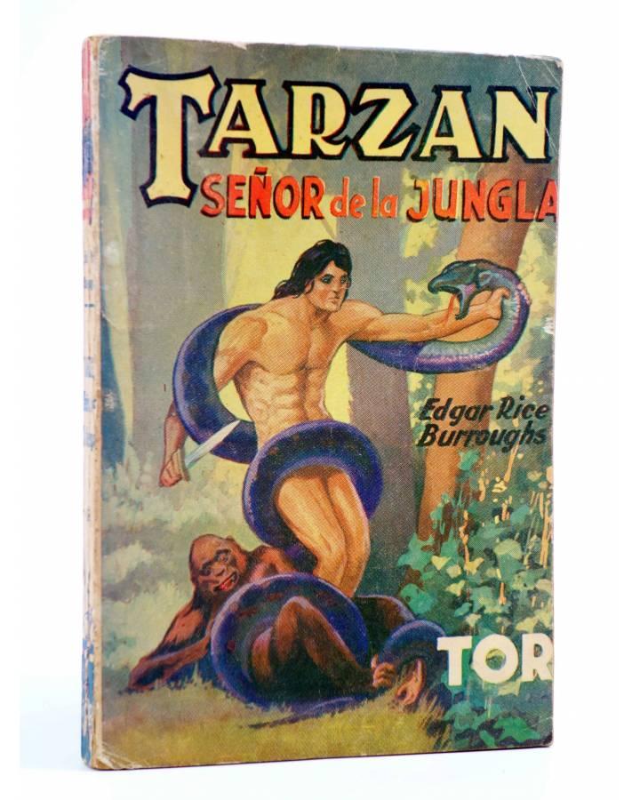 Cubierta de TARZÁN 11. TARZÁN SEÑOR DE LA JUNGLA (Edgar Rice Burroughs) Tor 1957