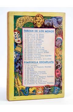 Contracubierta de TARZÁN 11. TARZÁN SEÑOR DE LA JUNGLA (Edgar Rice Burroughs) Tor 1957