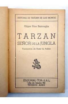 Muestra 1 de TARZÁN 11. TARZÁN SEÑOR DE LA JUNGLA (Edgar Rice Burroughs) Tor 1957