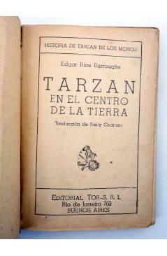 Muestra 1 de TARZÁN 16. TARZÁN EN EL CENTRO DE LA TIERRA (Edgar Rice Burroughs) Tor 1948