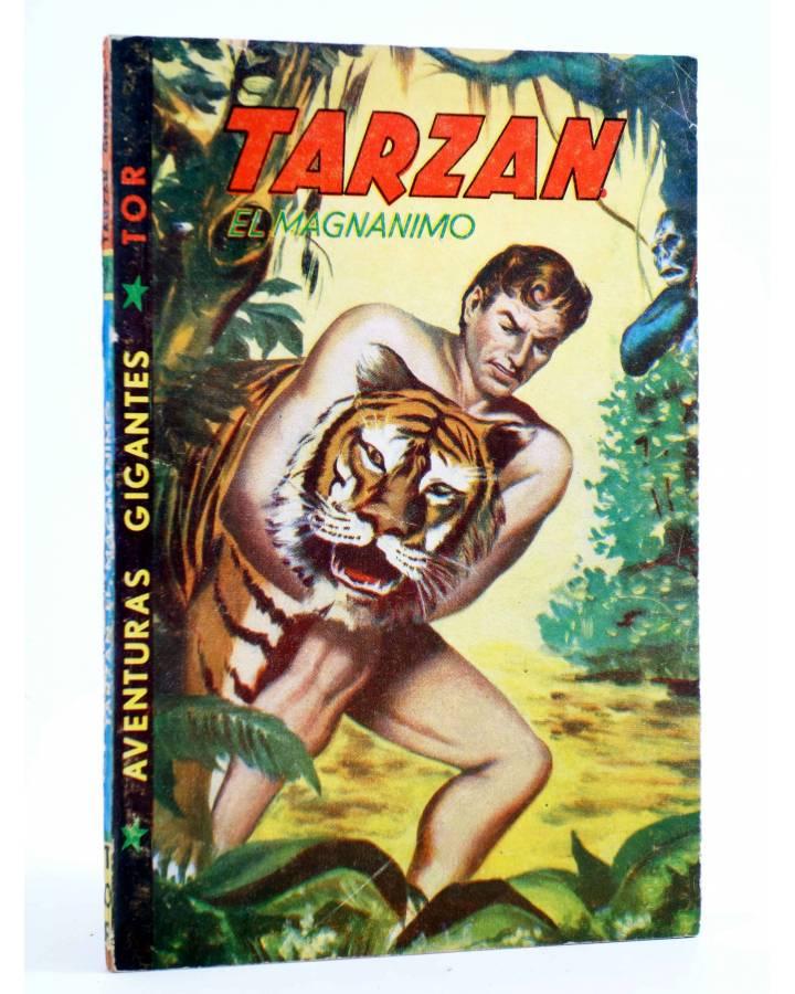 Cubierta de TARZÁN GIGANTE 1. TARZÁN EL MAGNÁNIMO (J.A. Brau Santillana) Tor 1959. APÓCRIFO