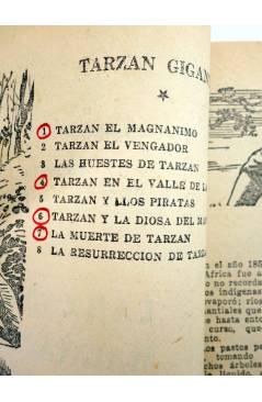 Muestra 3 de TARZÁN GIGANTE 1. TARZÁN EL MAGNÁNIMO (J.A. Brau Santillana) Tor 1959. APÓCRIFO