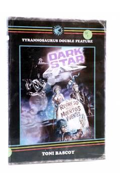 Cubierta de DOUBLE FEATURE TDF 2. DARK STAR / EL REGRESO DE LOS MUERTOS VIVIENTES (Toni Bascoy) Tyrannosaurus 2013