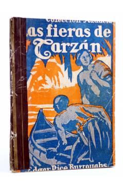 Cubierta de COLECCIÓN AUDACIA 5. LAS FIERAS DE TARZÁN (Edgar Rice Burroughs) Nueva Época 1933