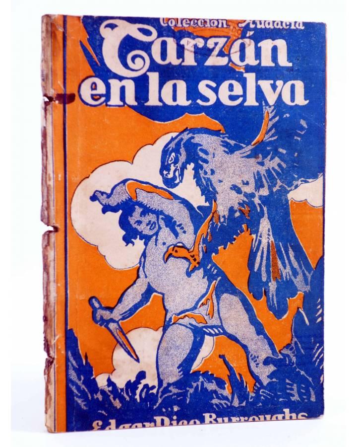 Cubierta de COLECCIÓN AUDACIA 11. TARZÁN EN LA SELVA (Edgar Rice Burroughs) Nueva Época 1933