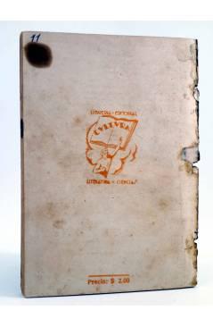 Contracubierta de COLECCIÓN AUDACIA 11. TARZÁN EN LA SELVA (Edgar Rice Burroughs) Nueva Época 1933