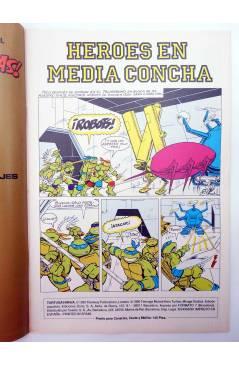 Muestra 1 de AVENTURAS TORTUGAS NINJA 2. ¡LO ESTAMOS PASANDO EN GRANDE!. Zinco 1990