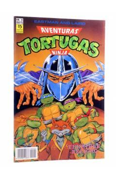 Cubierta de AVENTURAS TORTUGAS NINJA 4. TERRIBLE PELIGRO. Zinco 1990
