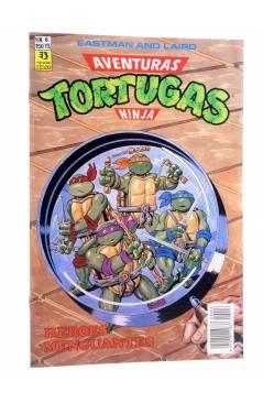 Cubierta de AVENTURAS TORTUGAS NINJA 6. HÉROES MENGUANTES. Zinco 1990