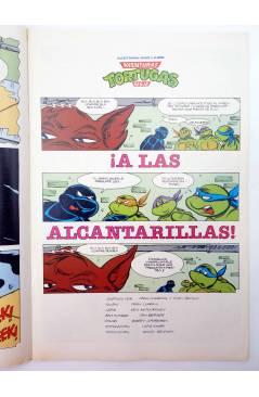 Muestra 1 de AVENTURAS TORTUGAS NINJA 12. LA PELEA ESTÁ SERVIDA. Zinco 1990