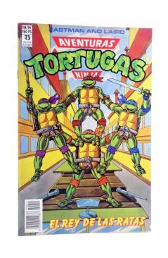 Cubierta de AVENTURAS TORTUGAS NINJA 14. EL REY DE LAS RATAS. Zinco 1990