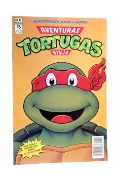 Cubierta de AVENTURAS TORTUGAS NINJA 15. Zinco 1990