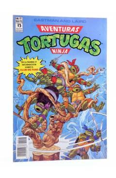 Cubierta de AVENTURAS TORTUGAS NINJA 17. Zinco 1990