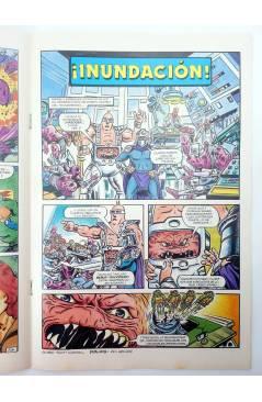 Muestra 2 de AVENTURAS TORTUGAS NINJA 18. ¡COWA BUNGA!. Zinco 1990