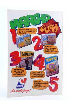 Contracubierta de AVENTURAS TORTUGAS NINJA 19. APRIL HA SIDO RAPTADA. Zinco 1990