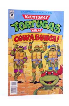 Cubierta de AVENTURAS TORTUGAS NINJA 22. COWABUNGA. Zinco 1990