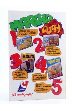 Contracubierta de AVENTURAS TORTUGAS NINJA 22. COWABUNGA. Zinco 1990