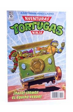Cubierta de AVENTURAS TORTUGAS NINJA 24. ¡PASO! ¡SOMOS EL EQUIVO VERDE!. Zinco 1990