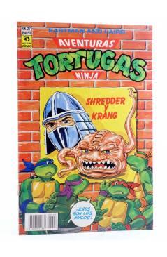 Cubierta de AVENTURAS TORTUGAS NINJA 27. SHREDDER Y KRANG. Zinco 1990