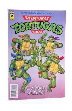 Cubierta de AVENTURAS TORTUGAS NINJA 31. ¡AL ATAQUE COLEGAS!. Zinco 1990