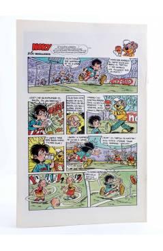 Contracubierta de AVENTURAS TORTUGAS NINJA 43. ¡SOMOS SIN DUDA EL NÚMERO UNO!. Zinco 1990