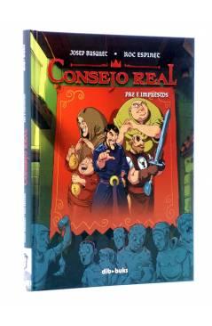 Cubierta de CONSEJO REAL. PAZ E IMPUESTOS (Josep Busquet / Roc Espinet) Dibbuks 2013