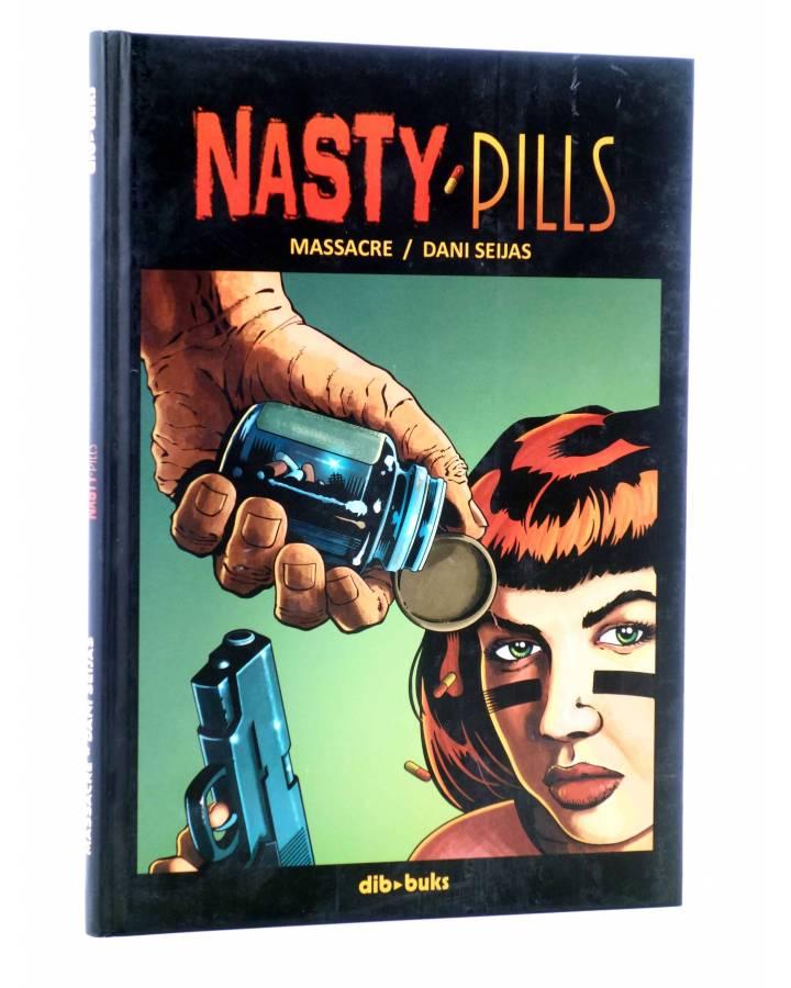 Cubierta de NASTY PILLS (Massacre / Dani Seijas) Dibbuks 2014