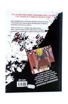 Contracubierta de NASTY PILLS (Massacre / Dani Seijas) Dibbuks 2014