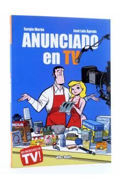 Cubierta de ANUNCIADO EN TV (Sergio Morán / José Luis Ágreda) Dibbuks 2013