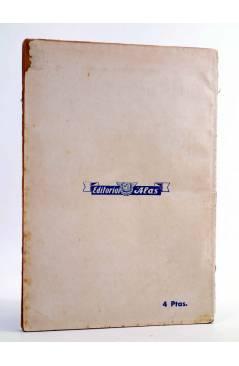 Contracubierta de BIBLIOTECA FILMS 413. TARZÁN CONTRA EL MAU MAU (Balci Tamer / N.A. Duncan) Alas Circa 1950