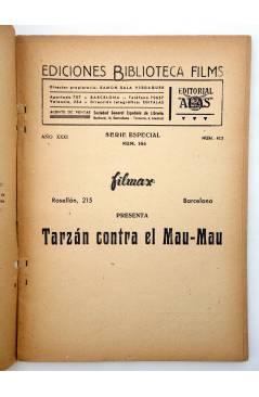 Muestra 1 de BIBLIOTECA FILMS 413. TARZÁN CONTRA EL MAU MAU (Balci Tamer / N.A. Duncan) Alas Circa 1950