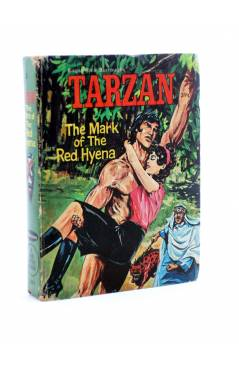 Cubierta de A BIG LITTLE BOOK. TARZAN THE MARK OF THE RED HYENA (George S. Elrick) Whitman 1967