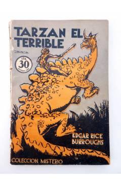 Muestra 1 de COLECCIÓN MISTERIO 92. TARZÁN EL TERRIBLE (Edgar Rice Burroughs) J.C. Rovira 1932