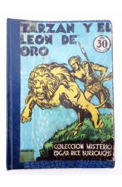 Muestra 1 de COLECCIÓN MISTERIO 93. TARZÁN Y EL LEÓN DE ORO (Edgar Rice Burroughs) J.C. Rovira 1932