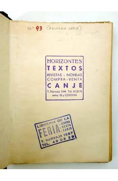 Muestra 2 de COLECCIÓN MISTERIO 93. TARZÁN Y EL LEÓN DE ORO (Edgar Rice Burroughs) J.C. Rovira 1932