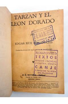 Muestra 3 de COLECCIÓN MISTERIO 93. TARZÁN Y EL LEÓN DE ORO (Edgar Rice Burroughs) J.C. Rovira 1932