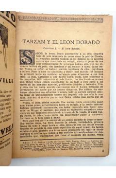 Muestra 4 de COLECCIÓN MISTERIO 93. TARZÁN Y EL LEÓN DE ORO (Edgar Rice Burroughs) J.C. Rovira 1932