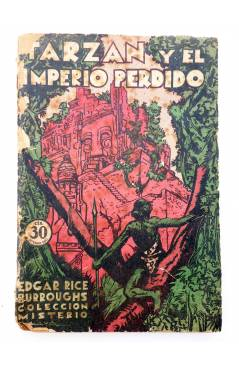 Muestra 1 de COLECCIÓN MISTERIO 96. TARZÁN Y EL IMPERIO PERDIDO (Edgar Rice Burroughs) J.C. Rovira 1932