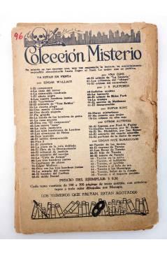 Muestra 4 de COLECCIÓN MISTERIO 96. TARZÁN Y EL IMPERIO PERDIDO (Edgar Rice Burroughs) J.C. Rovira 1932