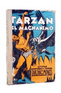 Cubierta de COLECCIÓN MISTERIO 126. TARZÁN EL MAGNÁNIMO (Alfonso Quintana) J.C. Rovira 1933. APÓCRIFO