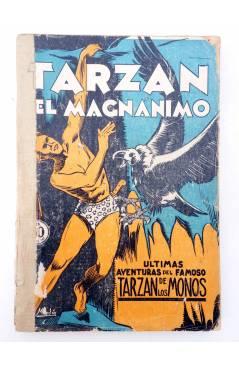 Muestra 1 de COLECCIÓN MISTERIO 126. TARZÁN EL MAGNÁNIMO (Alfonso Quintana) J.C. Rovira 1933. APÓCRIFO