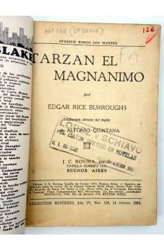 Muestra 2 de COLECCIÓN MISTERIO 126. TARZÁN EL MAGNÁNIMO (Alfonso Quintana) J.C. Rovira 1933. APÓCRIFO