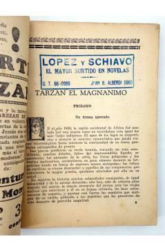 Muestra 3 de COLECCIÓN MISTERIO 126. TARZÁN EL MAGNÁNIMO (Alfonso Quintana) J.C. Rovira 1933. APÓCRIFO
