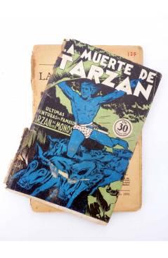 Muestra 1 de COLECCIÓN MISTERIO 127. LA MUERTE DE TARZÁN (Alfonso Quintana) J.C. Rovira 1933. APÓCRIFO